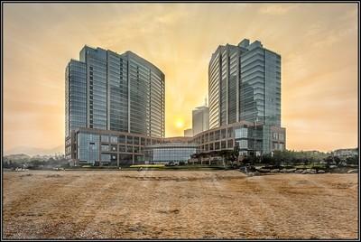 Regency Hyatt, Qingdao, China.