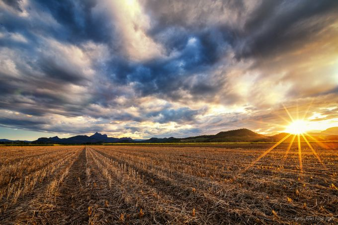 After the Harvest by TwoCatsPhotography - Dry Fields Photo Contest