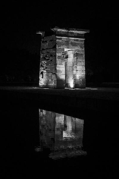 Templo de Debod. Madrid. Spain.