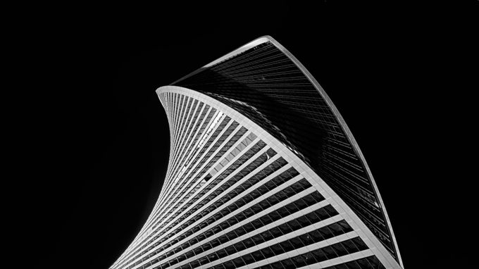 Evolution Tower by Eduard_Gorobets - Black And White Architecture Photo Contest