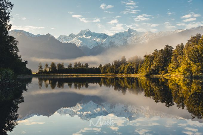 Good Morning Lake Matheson by Mike_MacKinven