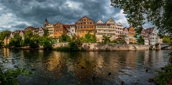 Tübingen city-panorama by puma330 - Canals Photo Contest