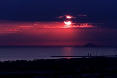 Sunset Tuscany Massa
