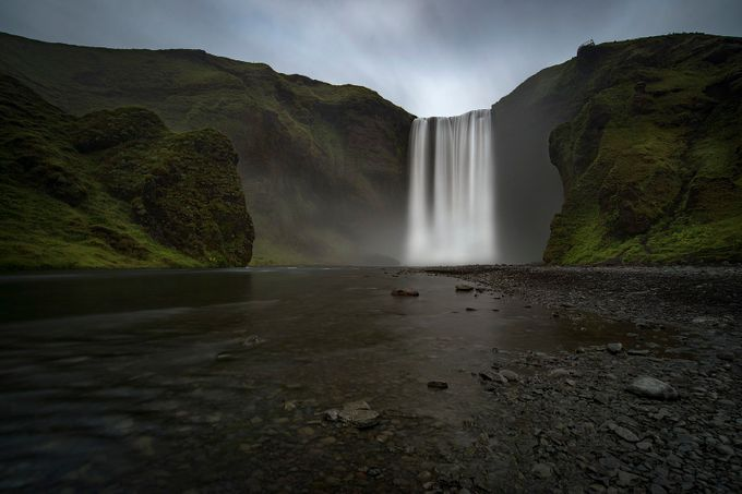 Skogafoss by azphotography - Landscapes Of Iceland Photo Contest