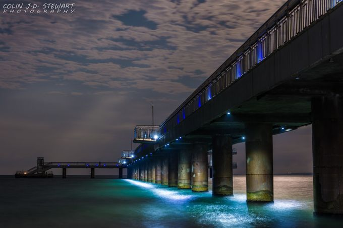 Burgas Pier by colin-j-d-stewart - The View Under The Pier Photo Contest