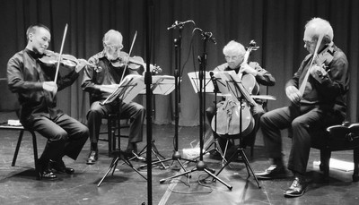 The Juilliard String Quartet play Debussy in Concord, MA.  Awesome!