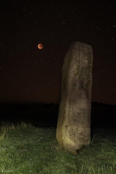 Blood moon (Supermoon lunar eclipse sept 2015)