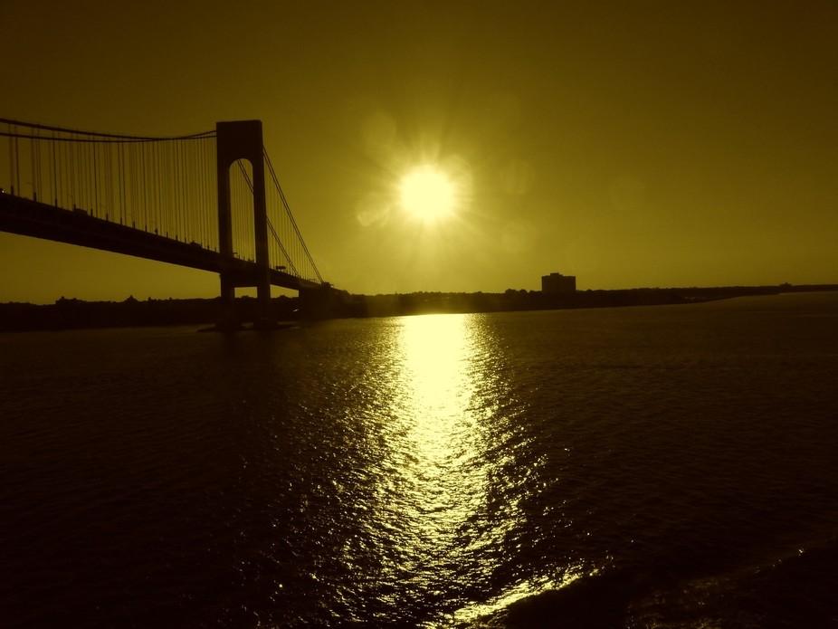 SUN SET GOING HOME