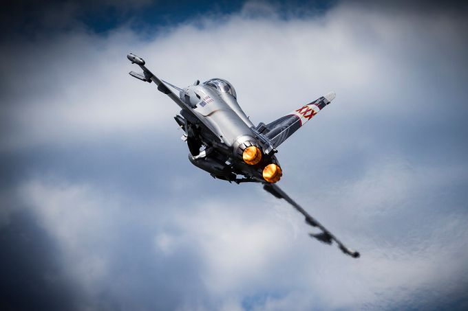 Afterburners lit by SteveCrampton - Isolated Photo Contest