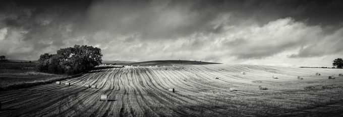September Cloud by Craigwww - Dry Fields Photo Contest
