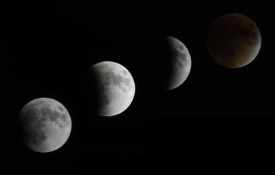 Lunar Eclipse Phases 2015