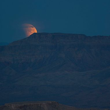 Full Moon from Valley of Fire Nv.