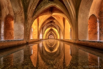Real Alcázar de Sevilla (Spain)