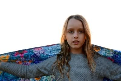 Girl + Blanket