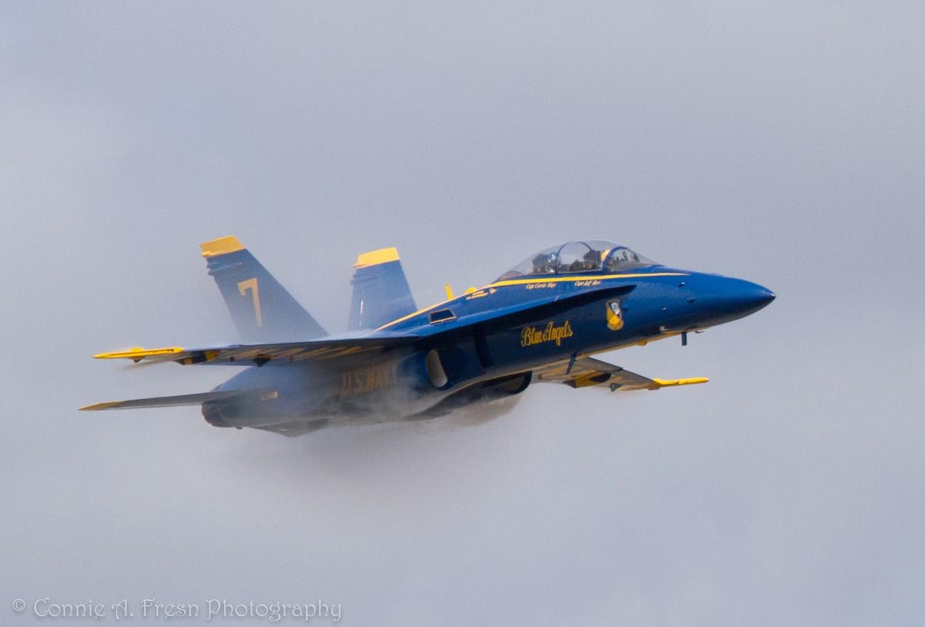 Blue Angels practice at NAS Pensacola
