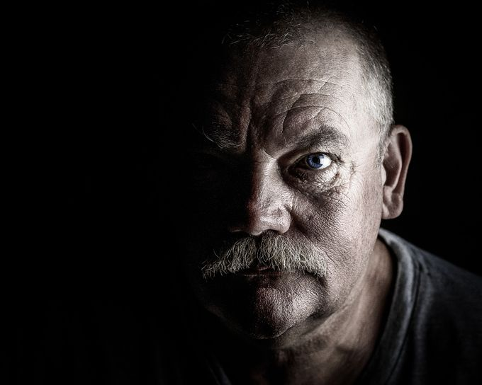 Mastermind by janheastont - Dramatic Portraits Photo Contest