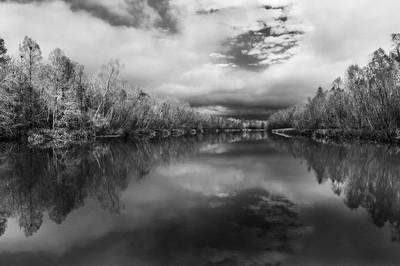 Grand River bw