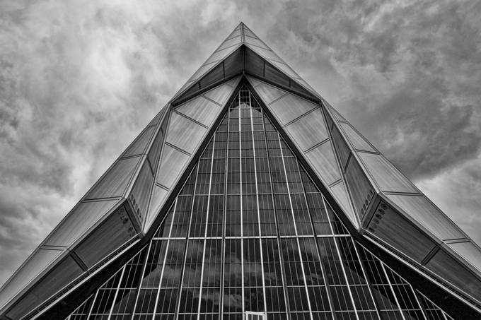 Chapel to the cadets* by Bob5253 - Simple Architecture Photo Contest