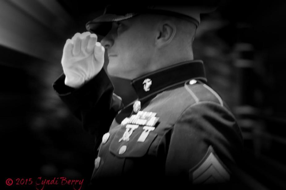 The Marine of Rolling Thunder