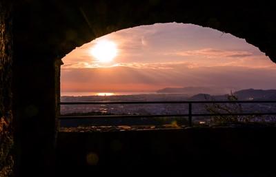 Sunset Castle Malaspina