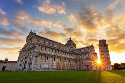 Pisa sunrise