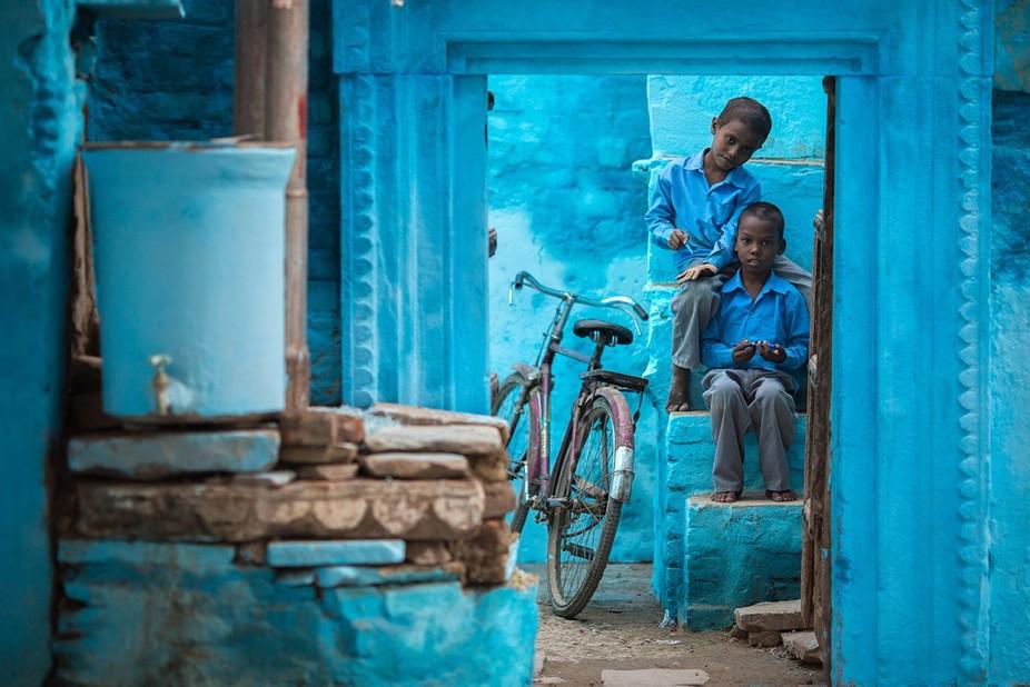 Blue Varanasi