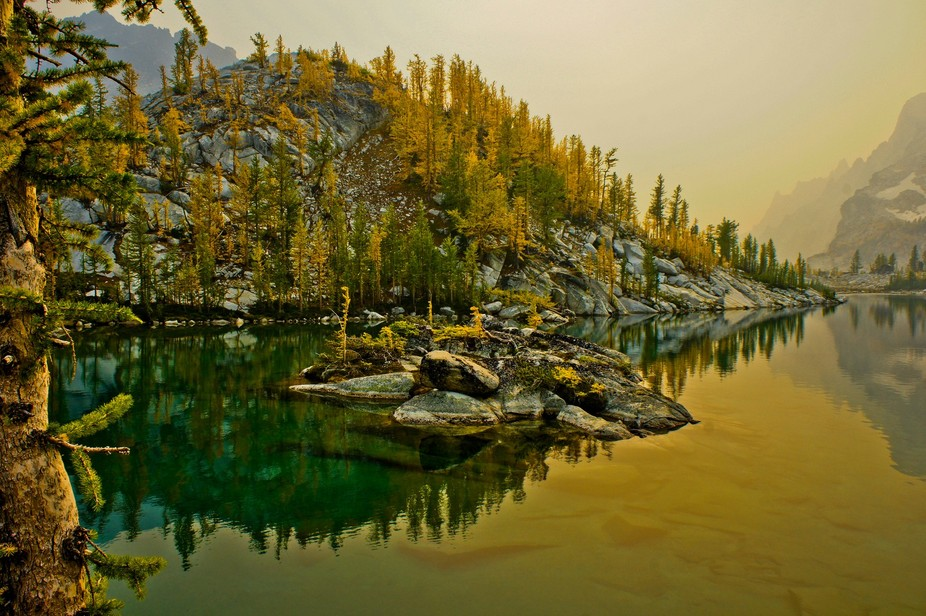 This is from one of my favorite hikes. The Enchantments are a series of lakes in the Alpine Lakes...