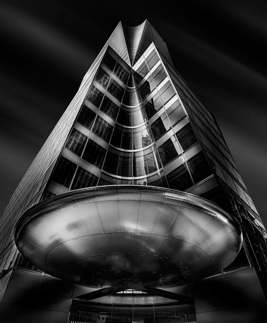 USS Enterprise by jacksoncarvalho - Black And White Architecture Photo Contest