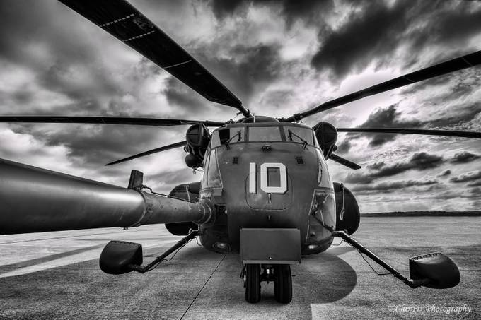 Blackhawk Down by ChixPixPhotography - One Monochrome Photo Contest