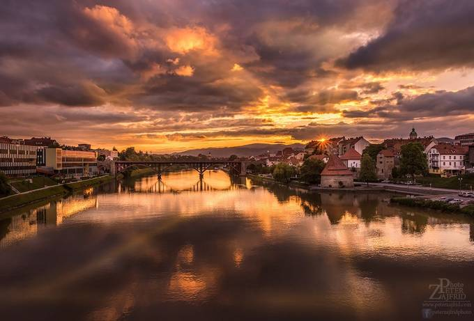 Sunset in Maribor by saintek - Sunset In The City Photo Contest