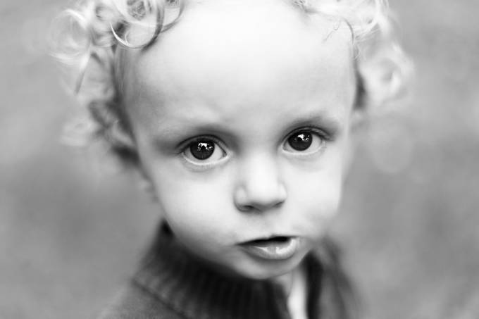 Nathan by thierryvouillamoz - Babies In Black And White Photo Contest