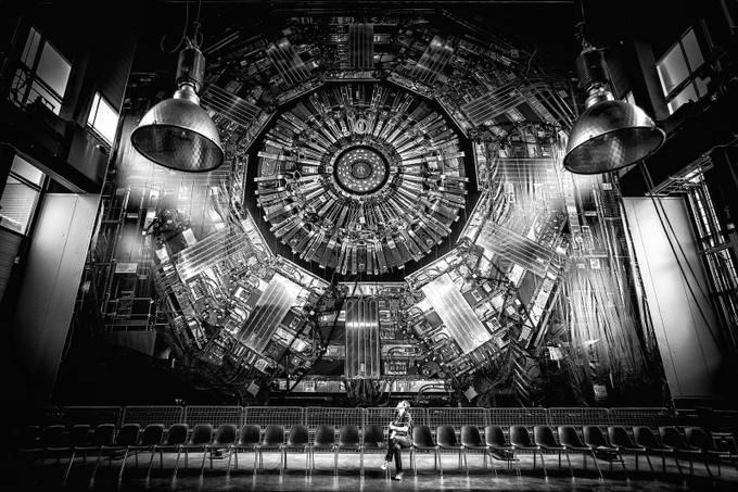 CMS Detector at CERN by top100wonders - People In Large Areas Photo Contest