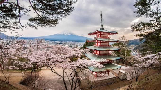 Chureito Pagoda by gerdiehutomo - The Magic Of Japan Photo Contest