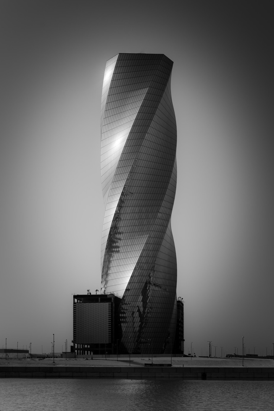 United Tower Bahrain by Craigwww - Black And White Architecture Photo Contest