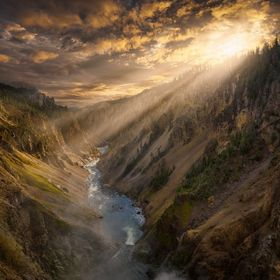 To this date, Yellowstone is by far the largest national park I have ever had the opportunity to visit. This massive canyon is just one small vie...