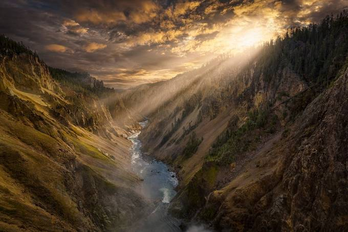 Yellowstone Canyon by rexjones - My Best Shot Photo Contest Vol 2