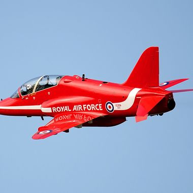 BAE Hawk T1 of the Royal Air Force Red Arrows
