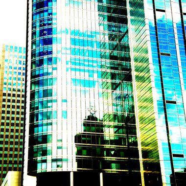 Rondo 1 - a skyscraper in Warsaw - the capital of Poland
