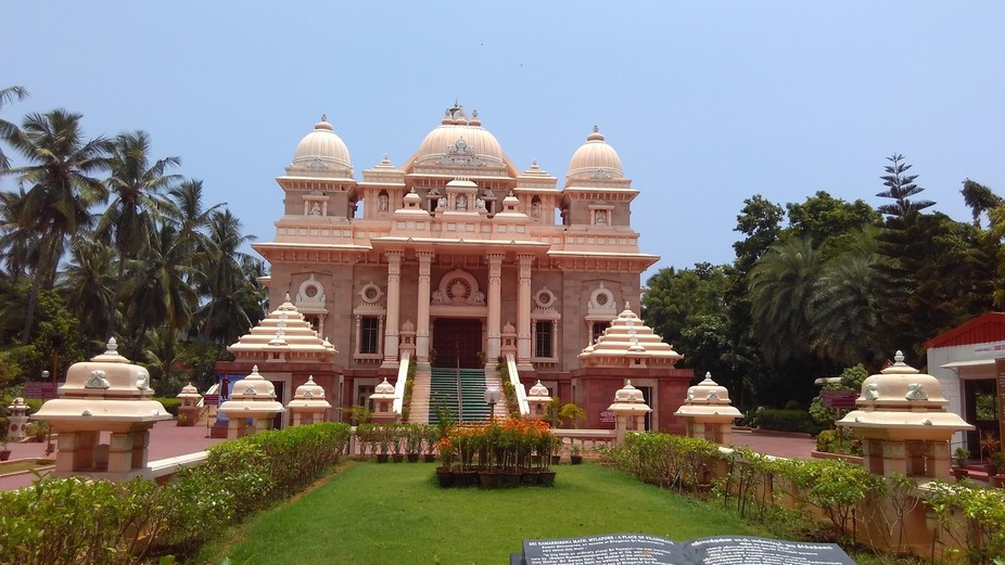 The premises of Sri Ramakrishna Math, Chennai, is pervaded with an atmosphere of palpable holines...