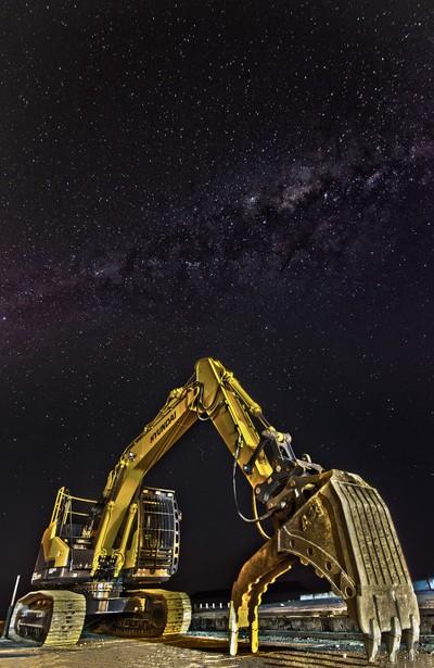 Digger Milky Way