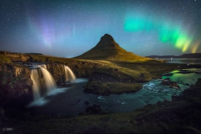 Aurora Over Kirkjufell by Boholm - Monthly Pro Vol 17 Photo Contest