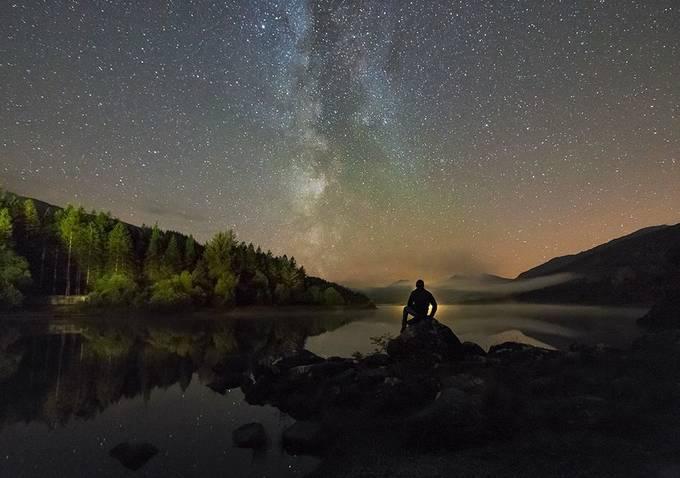 'Stargazing in Snowdonia' - Llynnau Mymbyr by kriswilliams - Life And Freedom Photo Contest