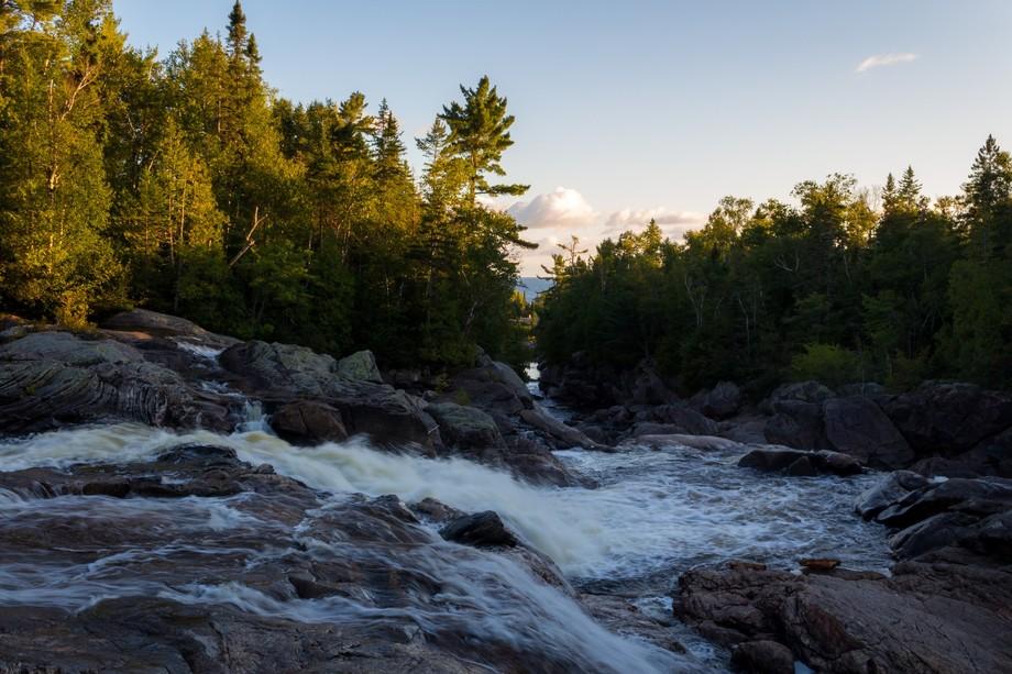 Waterfall - Superior Lake Provincial Park