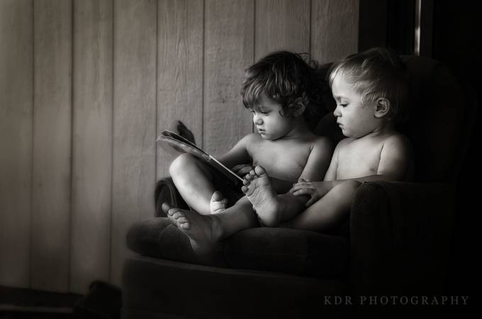 Brothers by KDRphotography - Kids With Props Photo Contest