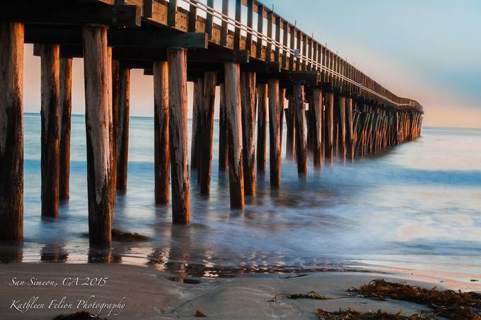 Cayucos Pier II by kathleenfelion - Monthly Pro Vol 16 Photo Contest