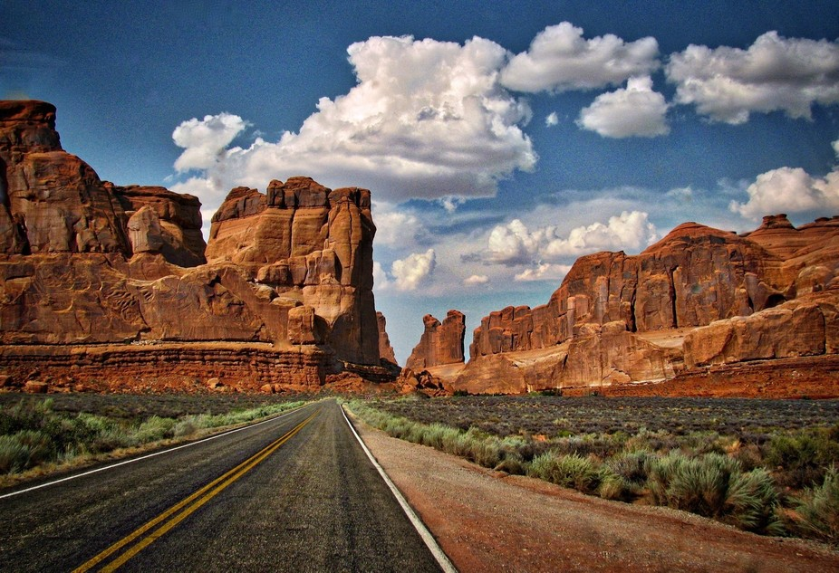 Arches National Park Outside Moab, Utah