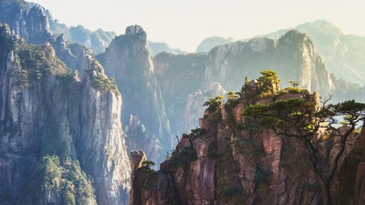 Huangshan rocks