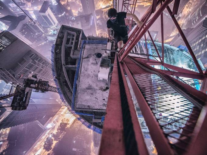 The world from above by keowweeloong - Standing At The Edge Photo Contest