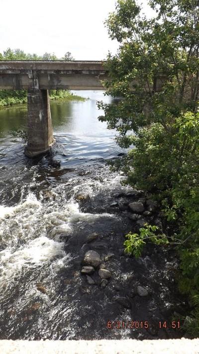Water under the Train Bridge