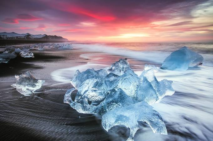 Jokulsarlon Ice Crab by stefanozaccardi - Image of the Year Photo Contest by Snapfish
